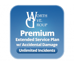 Worth Ave Premium Extended Warranty w/ Accidental Damage Provided by Promevo