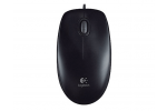 Logitech B100 USB Wired Mouse 910001439 (Black)