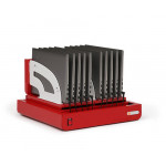 Bretford CUBE Micro Tray - TVT10AC-RED - 10 Devices