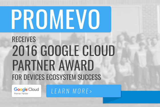 2016 Google Cloud Partner Award