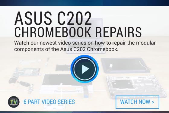 Asus C202 Chromebook Repair Video Series