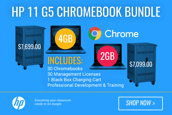 HP Chromebook 11 G5 Bundle