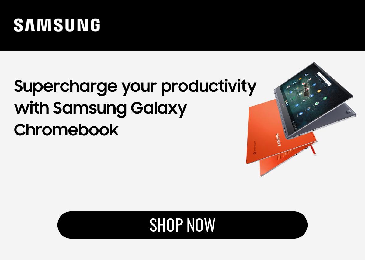 Shop Samsung Galaxy Chromebook