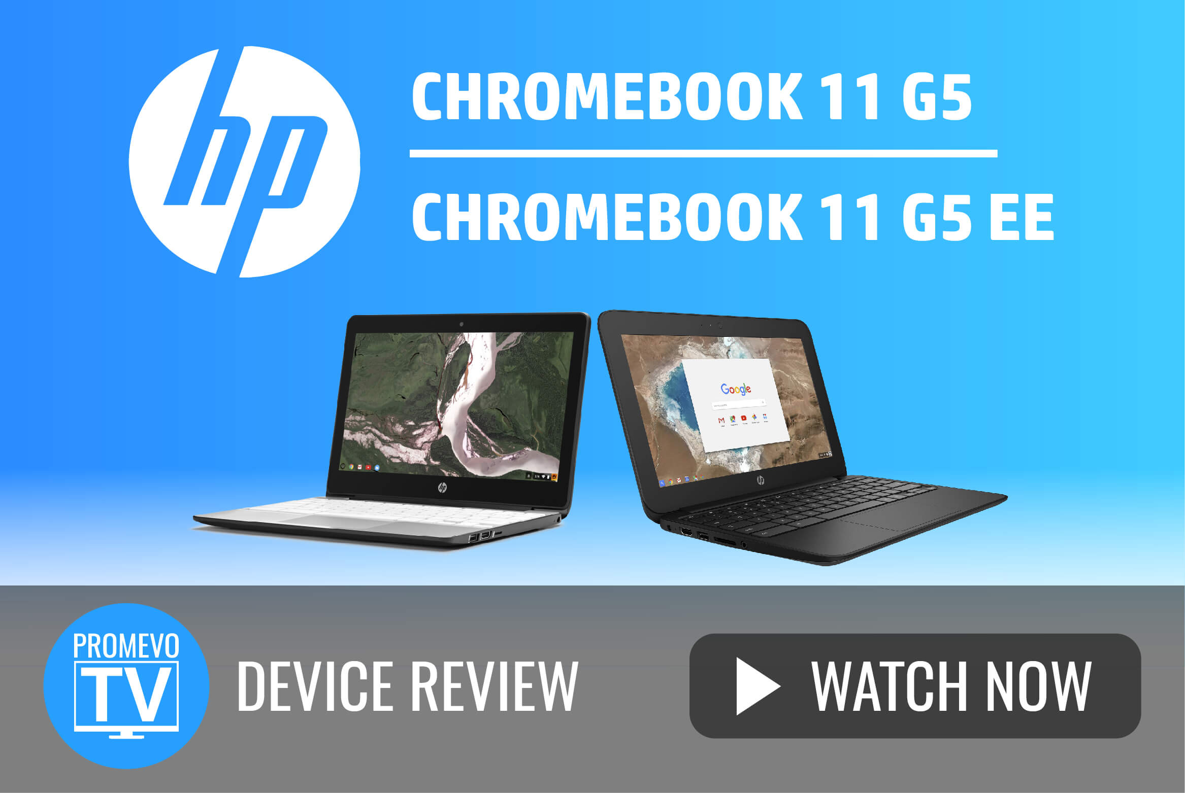 Mark checks out the very similar HP 11 Chromebook 11 G5 and 11 G5 EE