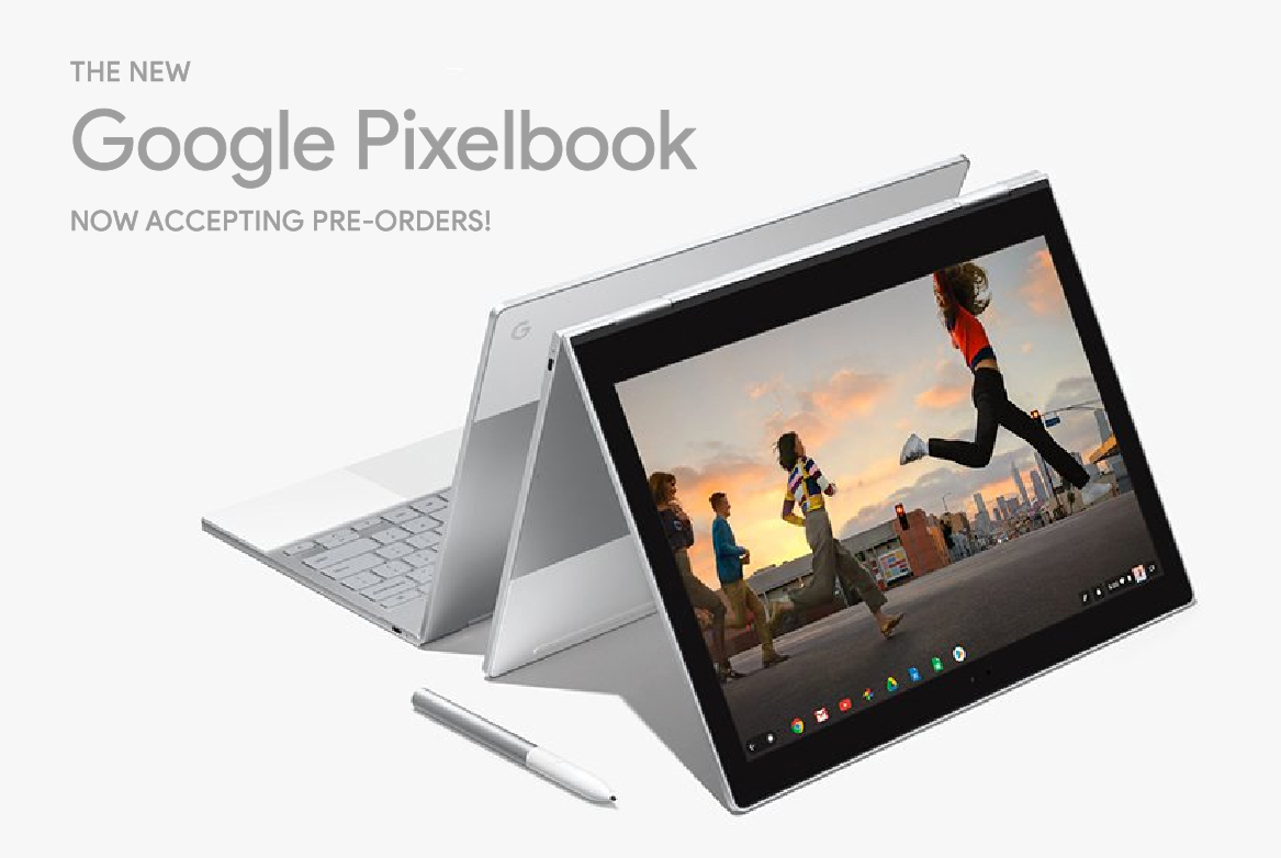The New Google Pixelbook can be pre-ordered now!